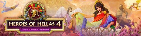 Spiel Heroes of Hellas 4 Geburt einer Legende