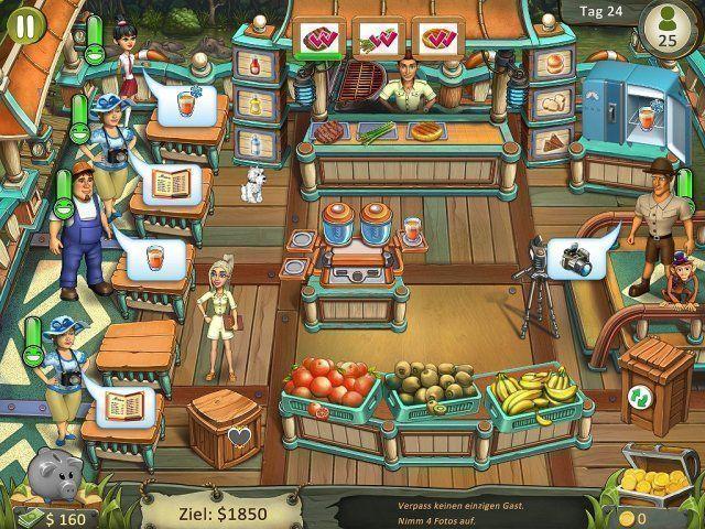 Screenshot  «Katy and Bob: Safari Cafe. Collector's Edition» № 2