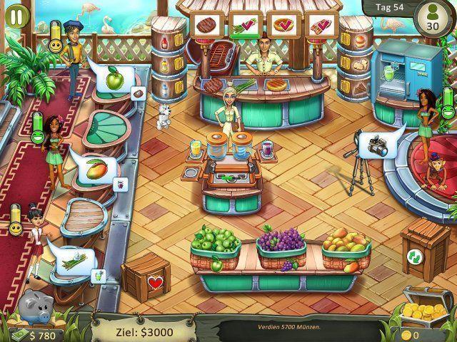 Screenshot  «Katy and Bob: Safari Cafe. Collector's Edition» № 3