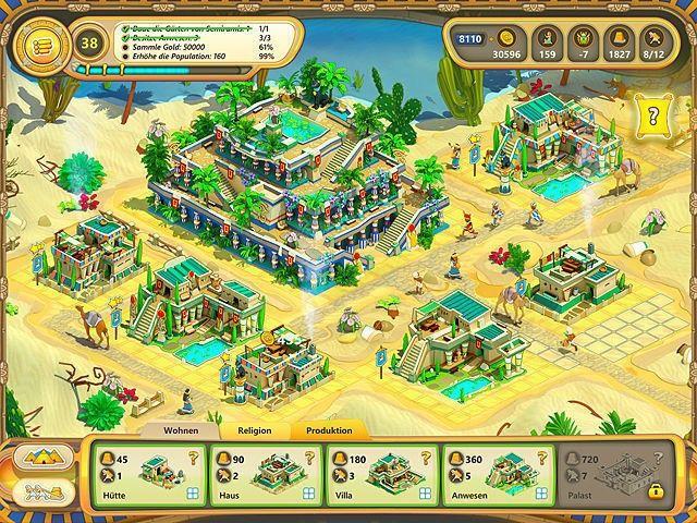 Screenshot  «Ramses: Aufstieg eines Imperiums. Sammleredition» № 3