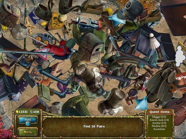 Screenshot  «Tales of Lagoona 3: Fehden, Fälschungen, und Fischstäbchen» № 3
