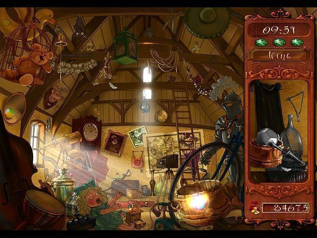 Enchanted Katya and the Mystery of the Lost Wizard en Español game