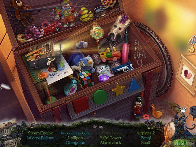 Mystery Castle: The Mirror's Secret en Español game