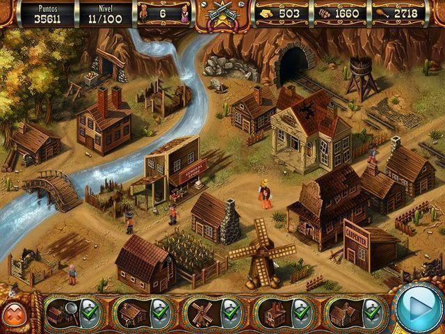 Wild West Story: The Beginnings en Español game