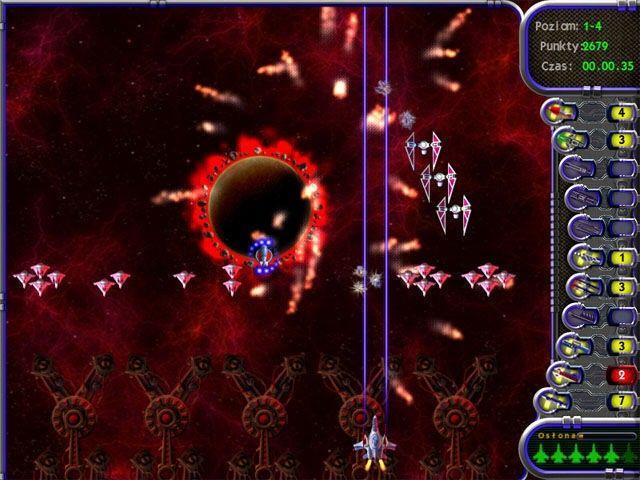 Kosmiczna furia Gra Bezpłatne