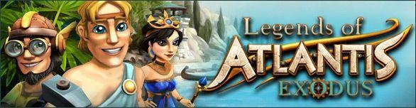 Legends of Atlantis: Exodus - W tym dreszczowcu uratujesz Atlantydę!