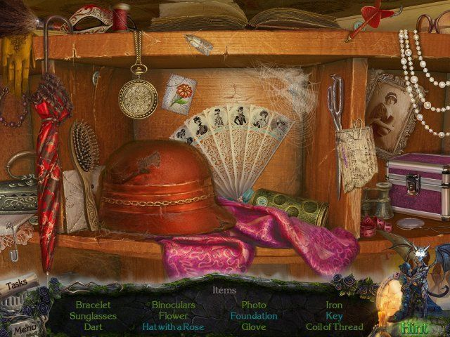 Tajemniczy Zamek: Sekret Lustra. Edycja Kolekcjonerska Gra Bezpłatne