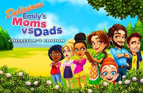 Delicious - Emily's Moms vs Dads. Collector's Edition