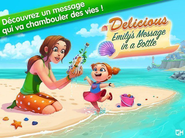 Delicious - Emily's Message in a Bottle. Collector's Edition