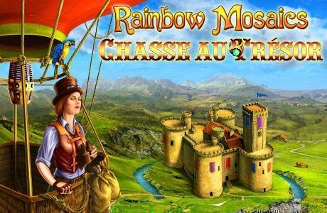 Rainbow Mosaics: Chasse au Trésor