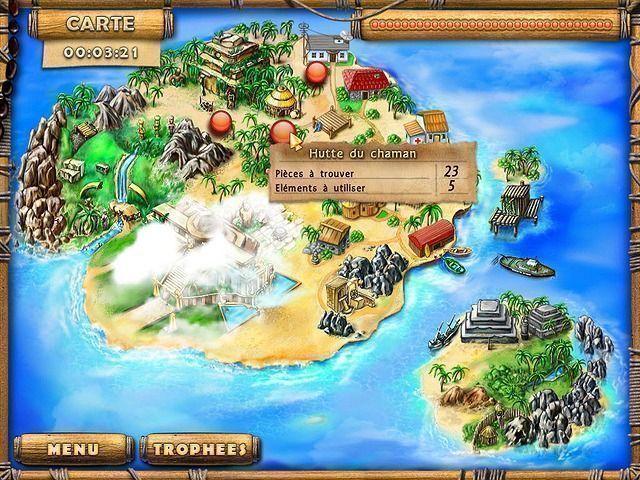 Les Trésors de l'Ile Mystérieuse
